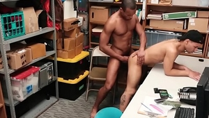 Gay amateur gets ass fingered