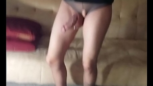 Pantyhose Hard Cock Cute Toes