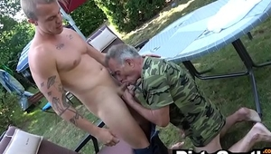 Old Gunther Pounded by Horny Hunk