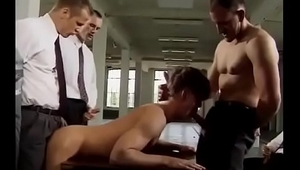 handsome boss and two slaves