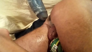 rough dildo anal slut hammer with spoiled orgasm at end