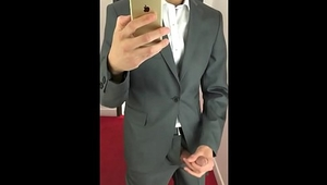 Man in Suit / Cock Out