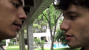 Twink Boy Sex With Young Stranger For Cash POV