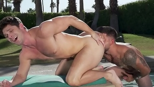 Vadim Black and Devin Franco Definitely Knows how to Turn a boring sunbathing into a Gay Romp