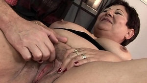 Lawanda likes meat more than toys! This BBW spins on you till you are done!