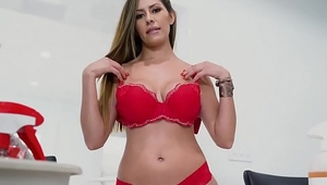 Hottest Latina Housekeeper Alexa Vega Cleans the house and EVERYTHING else as well