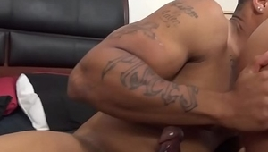Thick Sexy MILF Bridgette B Rampaged by Dan and a Big Black Guy